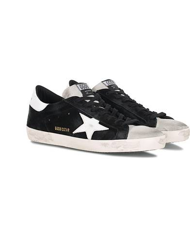 Golden Goose Deluxe Brand White Star Ice Superstar Sneaker Black Suede