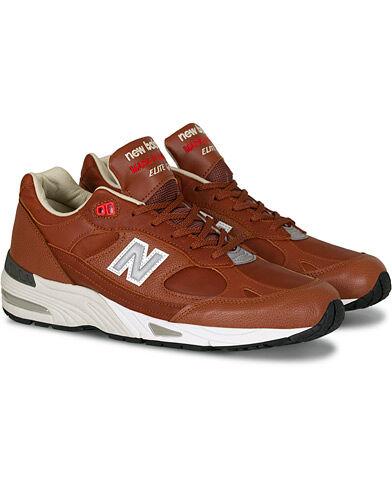 New Balance Made in England 991 Sneaker  Tan