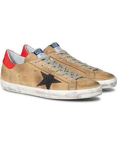 Golden Goose Deluxe Brand Incense Nabuck Superstar Sneaker Grey Suede