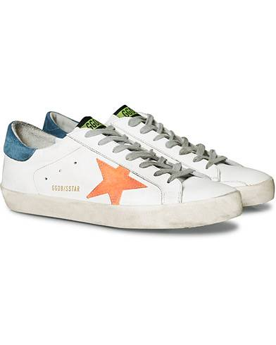 Golden Goose Deluxe Brand Apricot Star Superstar Sneaker White Calf