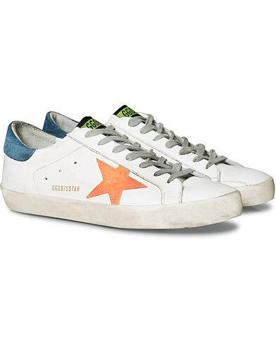 Golden Goose Deluxe Brand Apricot Star Superstar Sneaker White Calf