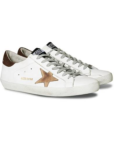 Golden Goose Deluxe Brand Incense Nabuck Star Superstar Sneaker White