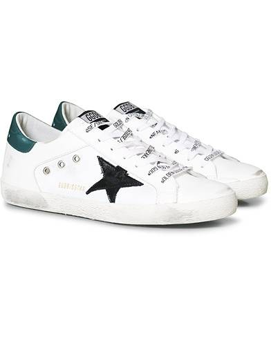 Golden Goose Deluxe Brand Black Star Canvas Superstar Sneaker White