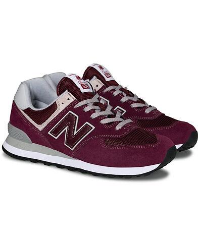 New Balance 574 Sneaker Burgundy