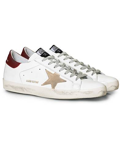 Golden Goose Deluxe Brand Superstar Suede Star White/Bordeaux