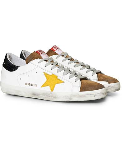 Golden Goose Deluxe Brand Superstar Suede Star White/Tobacco