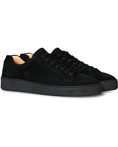 Tiger of Sweden Salas Suede Sneaker Black Suede