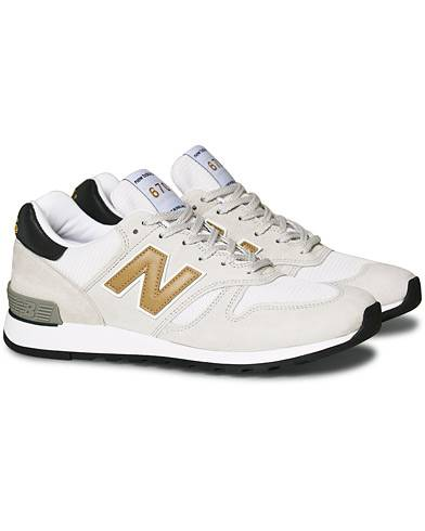 New Balance Made in England 670 Sneaker White/Gold