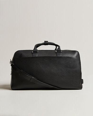 Tiger of Sweden Brome Grained Leather Weekendbag Black