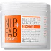 NIP+FAB Glycolic Fix Gentle Pads - Sensitive 80ml