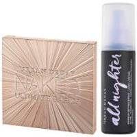Urban Decay Naked Ultimate Basics Palette and Setting Spray Bundle
