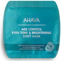 AHAVA Age Control Even Tone & Brightening Sheet Mask
