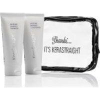 KeraStraight Moisture Enhance Shampoo/Conditioner Travel Bag