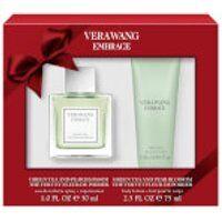 Vera Wang Embrace Green Tea and Pear 30ml Eau De Toilette and 75ml Body Lotion