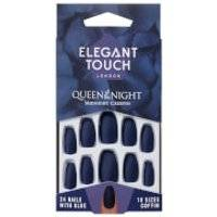 Elegant Touch Queen of the Night Nails - Midnight Creepin