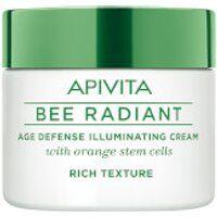 APIVITA Bee Radiant Age Defense Illuminating Cream - Rich Texture 50ml