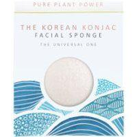 The Konjac Sponge Company The Elements Water Facial Sponge - 100% Pure White 30g