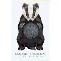 The Konjac Sponge Company Woodland Badger Pure Konjac Mini Pore Refiner - Bamboo Charcoal 12g
