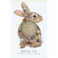 The Konjac Sponge Company Woodland Rabbit Pure Konjac Mini Pore Refiner - Green Tea 12g