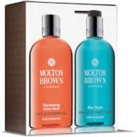 Molton Brown Rejuvenating Arctic Birch and Blue Maquis Hand & Body Set