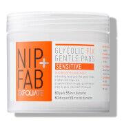 NIP+FAB Glycolic Fix Gentle Pads - Sensitive -glykolilaput 80ml