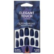 Elegant Touch Queen of the Night Nails -tekokynnet, Midnight Creepin