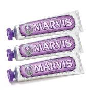 Marvis Jasmine Mint Toothpaste Bundle -hammastahnasetti (3x85ml)