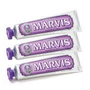 Marvis Jasmine Mint Toothpaste Bundle -hammastahnasetti (3x85ml)