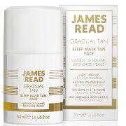 James Read Sleep Mask Tan Face -itseruskettava kasvonaamio, 50ml