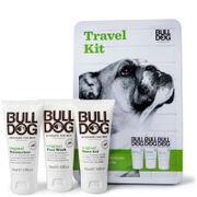 Bulldog Skincare for Men Bulldog One Step At A Time Minis Tin – puhdistusaine, kosteusvoide ja parranajogeeli (matkakoko)