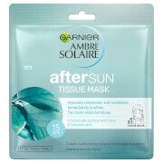 Garnier Ambre Solaire After Sun Cooling Hydrating Face Sheet Mask -kasvonaamio
