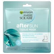 Garnier Ambre Solaire After Sun Cooling Face Sheet Masks -kangasnaamio (5kpl)