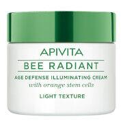 APIVITA Bee Radiant Age Defense Illuminating Cream -voide 50ml, Light Texture