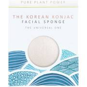 The Konjac Sponge Company The Elements Water Facial Sponge -kasvosieni 30g, 100% Pure White