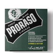 Proraso Refreshing Tissues - Cypress and Vetyver -pyyhkeet (6 kpl)