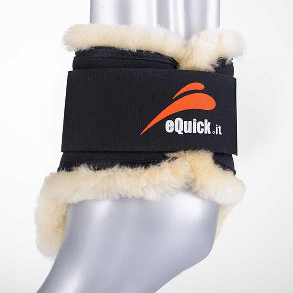 Image of eQuick eShock lampaankarvasuojat takajalkoihin, nuorille hevosille