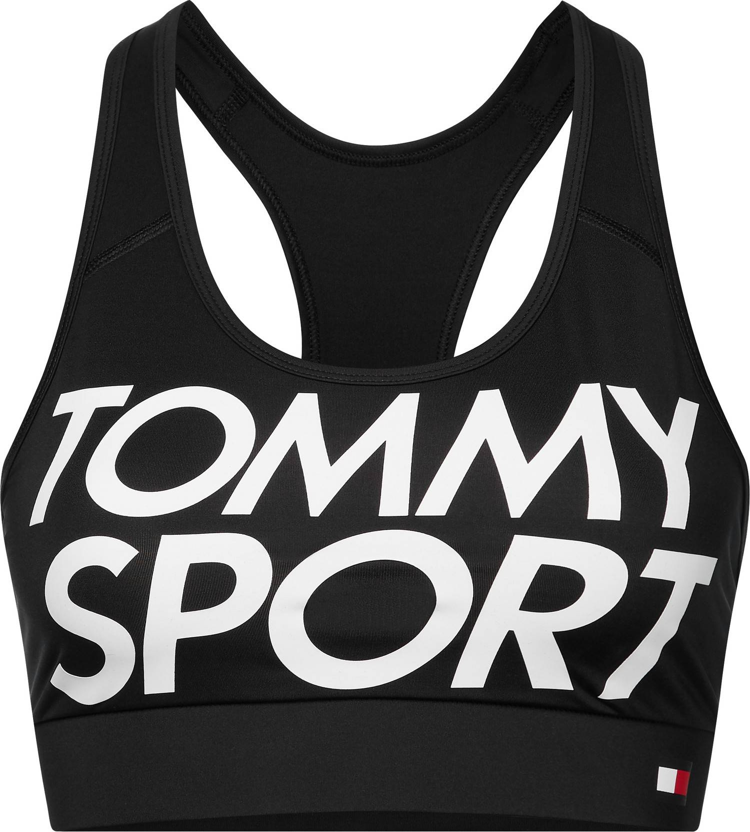 Image of Tommy Sport Naisten Urheiluliivit, Sports Bra Logo Musta