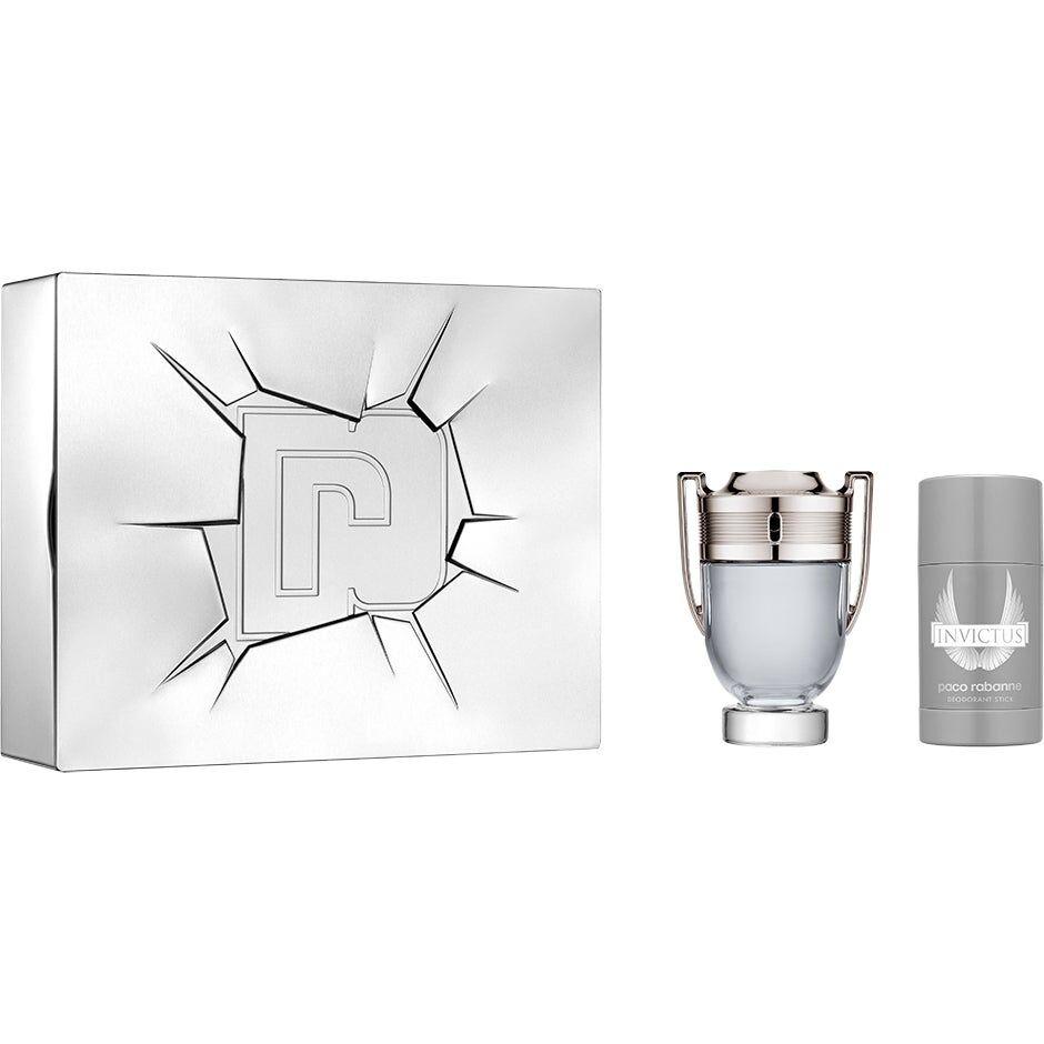 Paco Rabanne Invictus Gift Set 2018  Paco Rabanne Miesten lahjapakkaukset