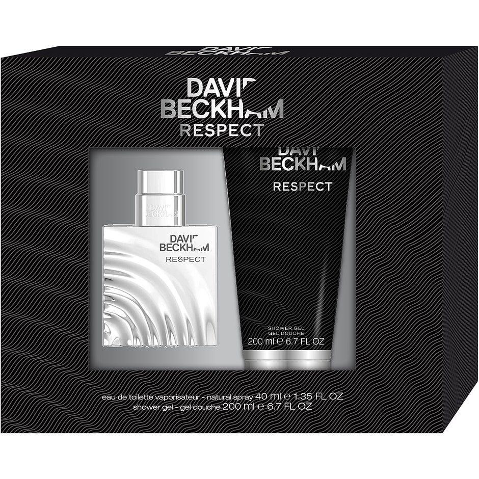 David Beckham Respect Gift Set  David Beckham Miesten lahjapakkaukset