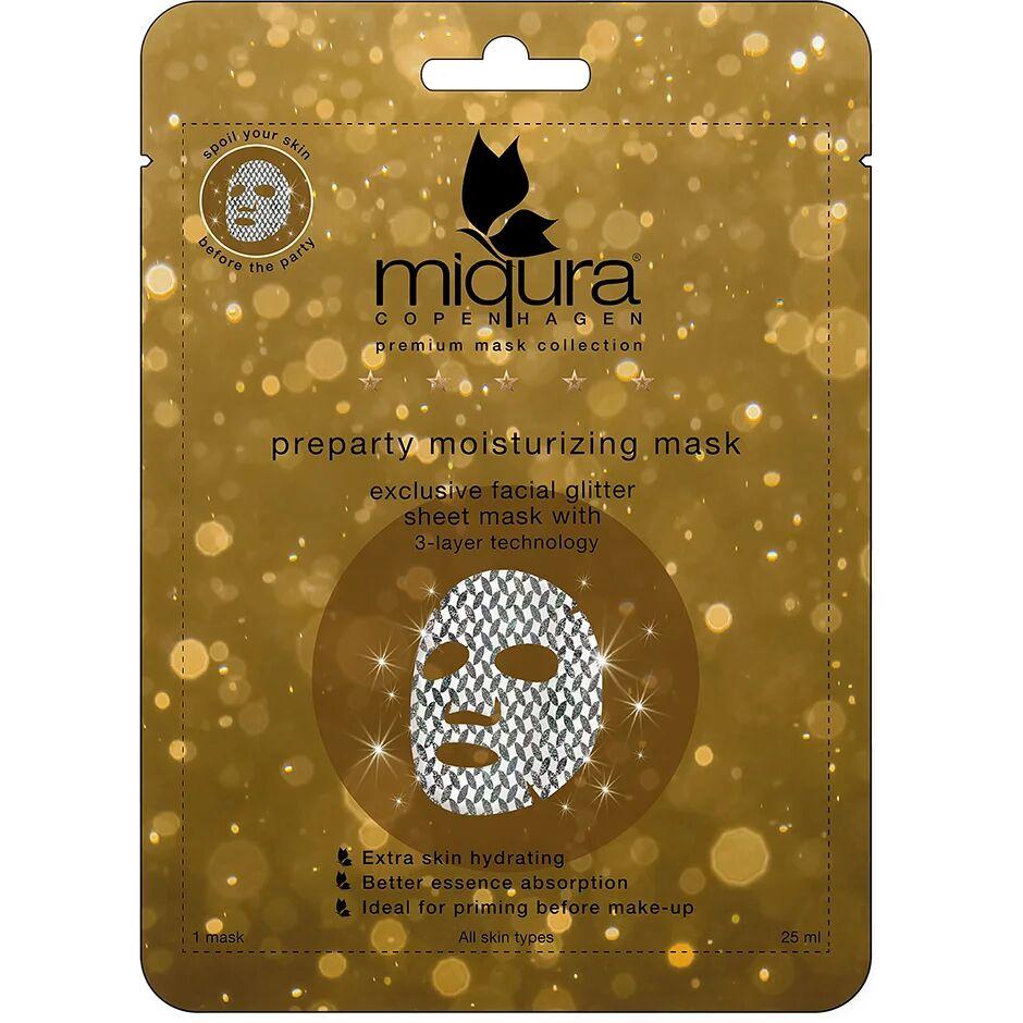 Miqura Pre-Party Glitter Mask  Miqura Kasvonaamio