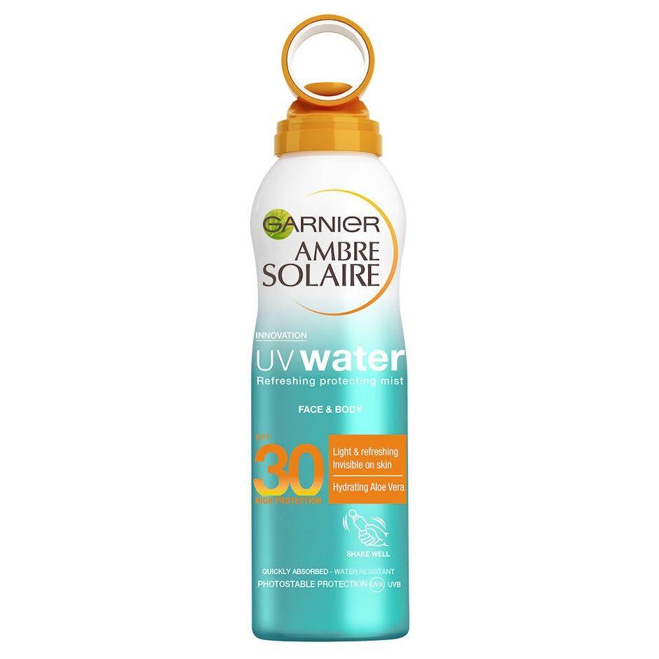 Garnier Ambre Solaire UV Water Mist  Garnier Aurinkosuojat