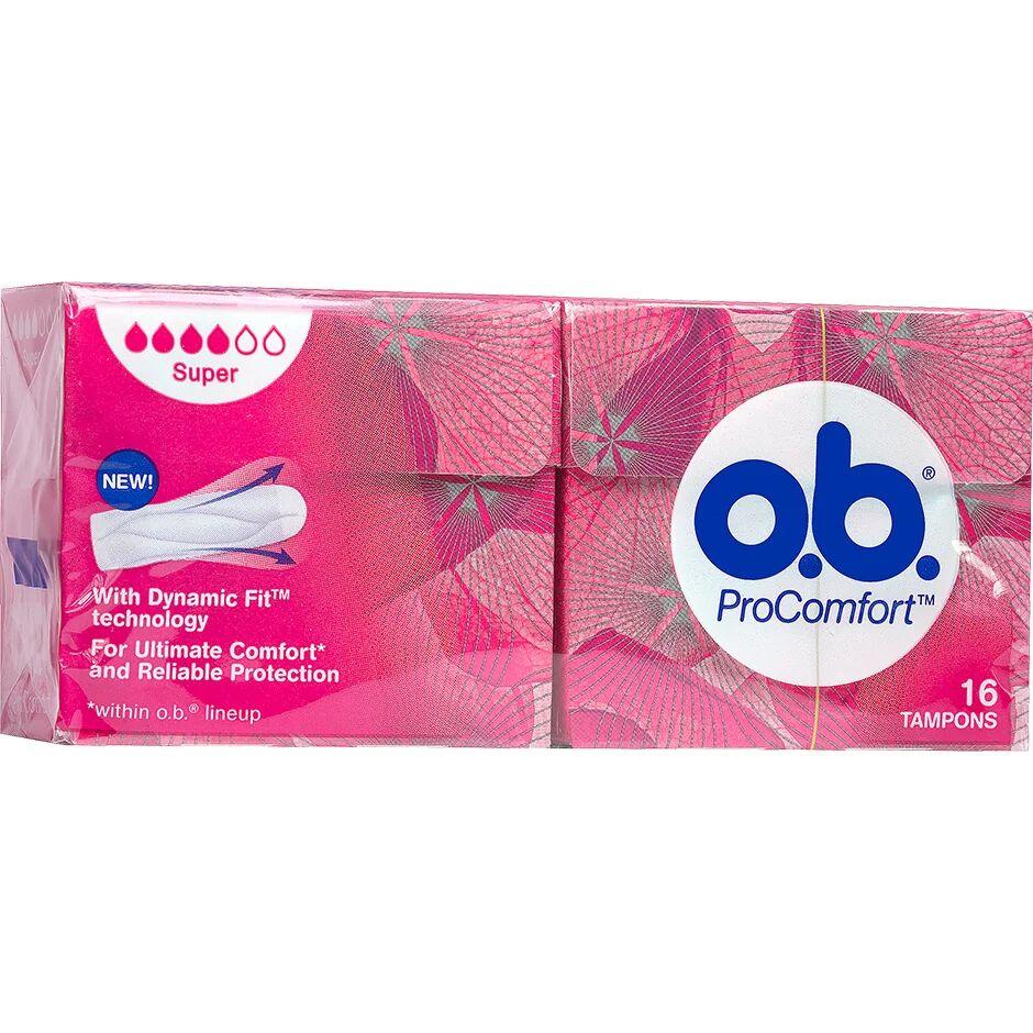 OB ProComfort Super  OB Tamponit