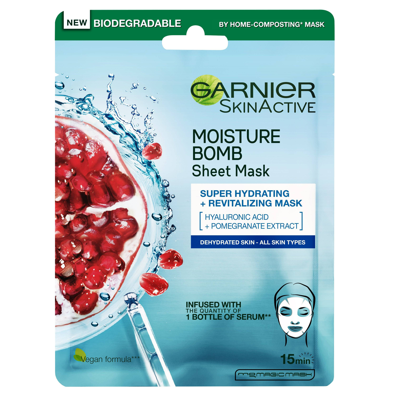 Garnier SkinActive Moisture Bomb Tissue Mask  Garnier Kasvonaamio