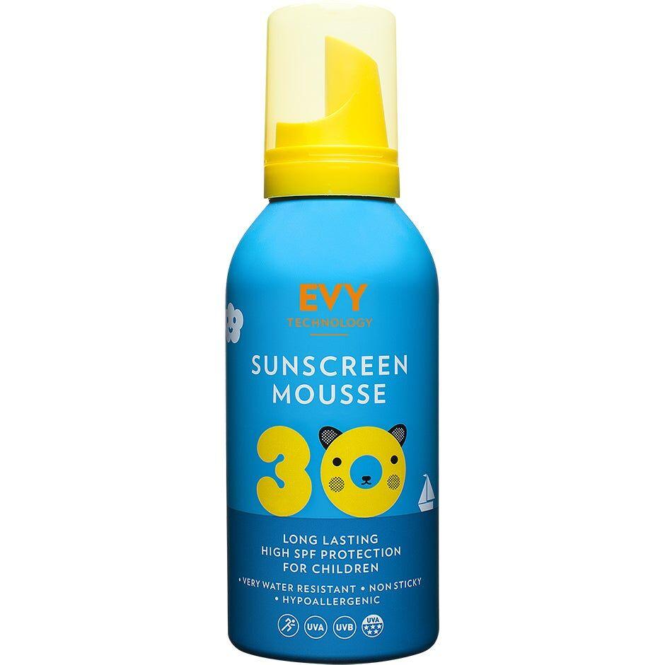 EVY Technology Sunscreen Mousse For Kids SPF30  EVY Technology Aurinkosuojat