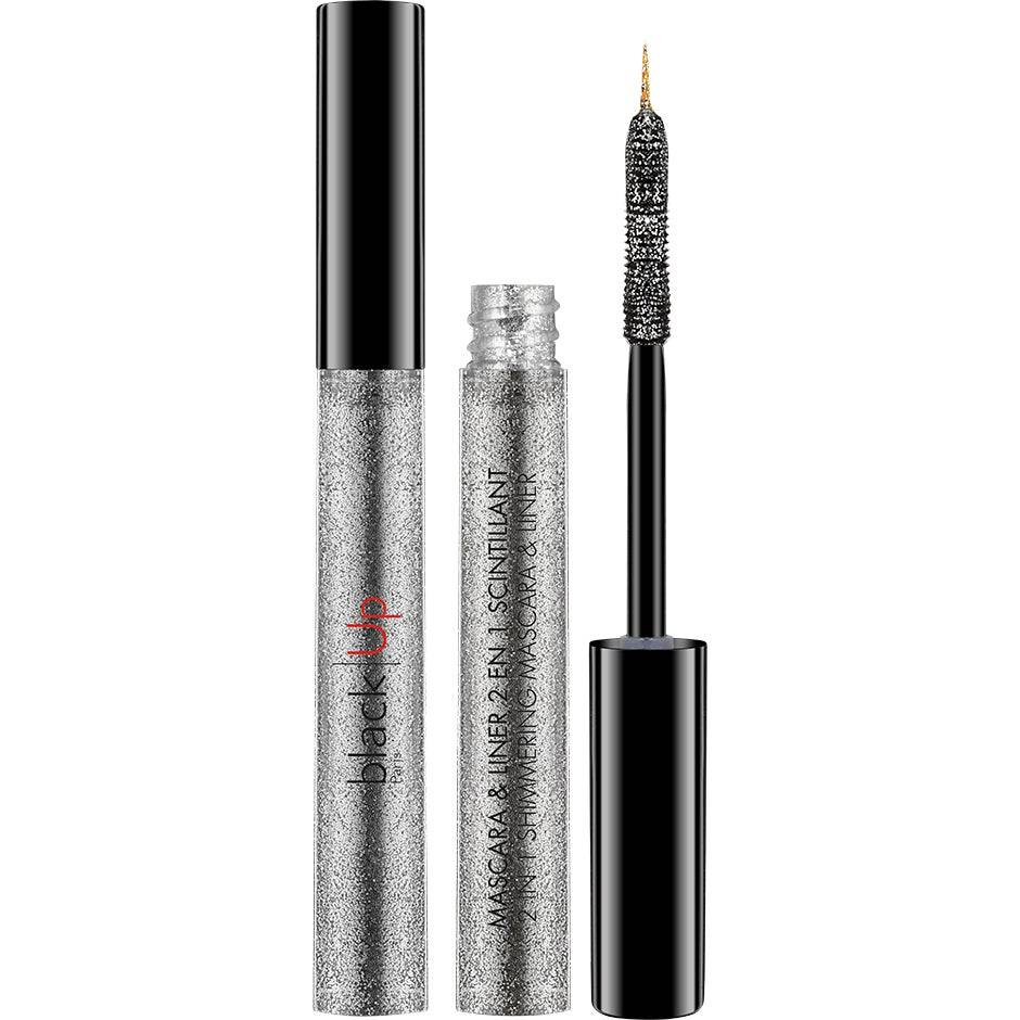 blackUp 2-in-1 Shimmering Mascara & Liner  4,5ml blackUp Ripsivärit