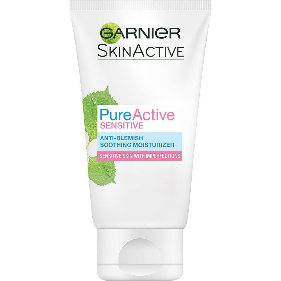 Garnier SkinActive Pure Active Sensitive Moisturizer  Garnier Päivävoiteet