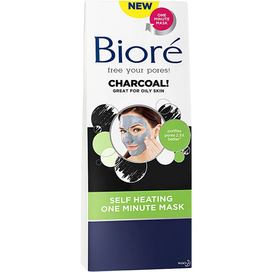 Bioré Self Heating One Minute Mask  Bioré Kasvonaamio