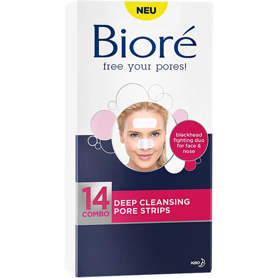 Bioré Deep Cleansing Pore Strips - Combo  Bioré Kasvonaamio