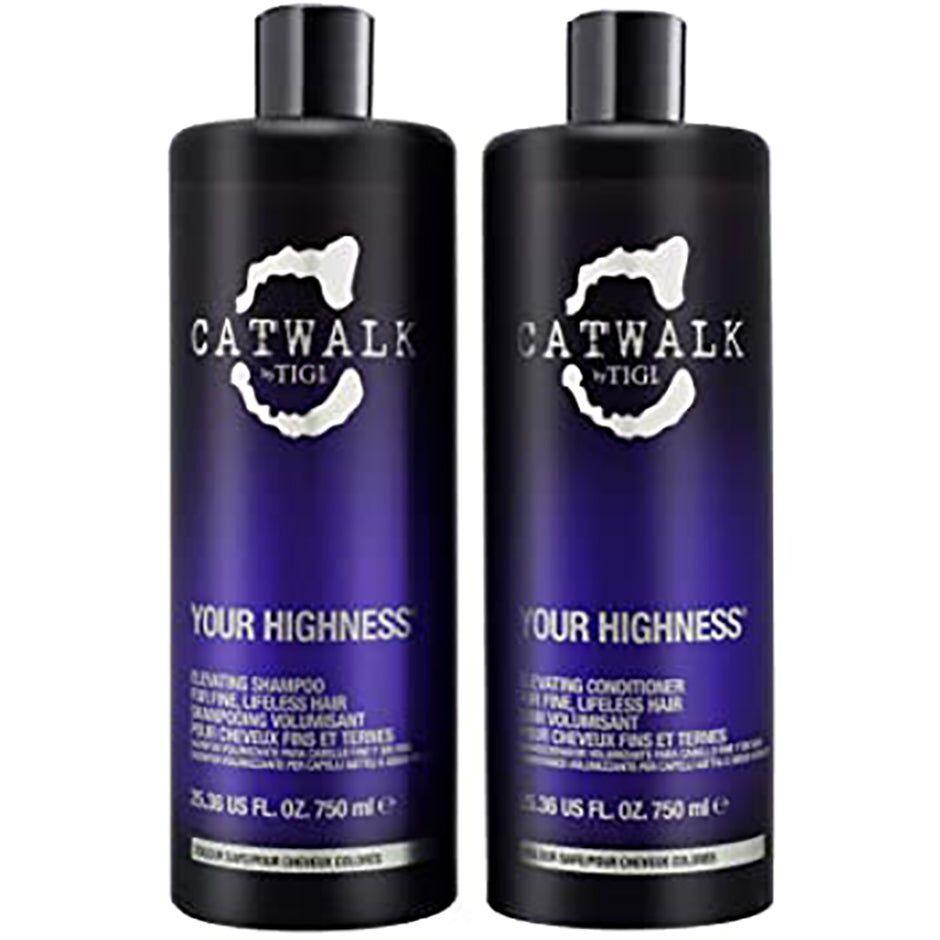 TIGI Catwalk Your Highness Duo  750ml TIGI Catwalk Hiustenhoito