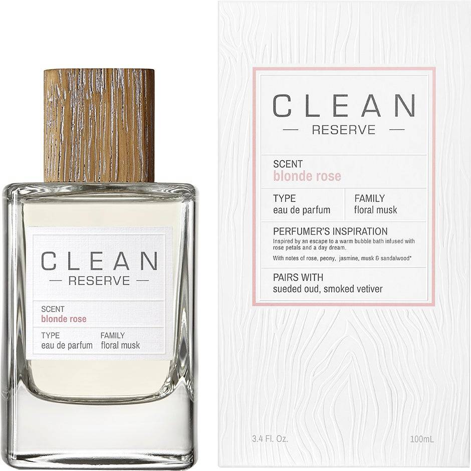 Clean Blonde Rose EdP  100ml Clean Hajuvedet